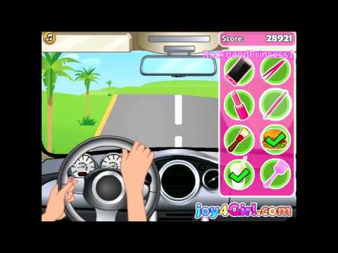 Barbie Games Online To Play Free Barbie Car Racing Game
