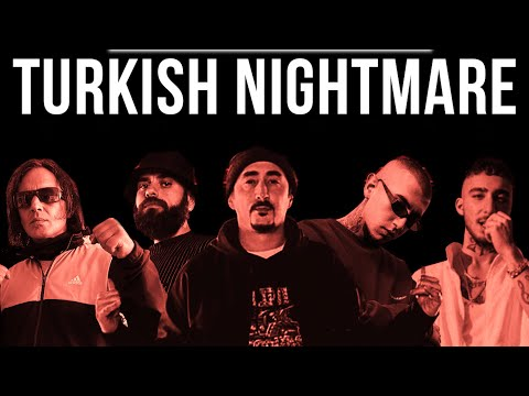 Смотреть клип Eko Fresh X Killa Hakan X Uzi X Motive X Hayki - Turkish Nightmare