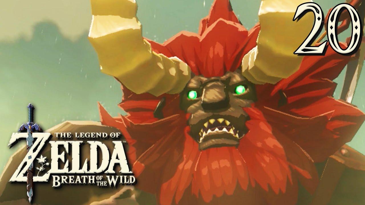 Zelda Breath Of The Wild 20 Combat Face Au Lynel