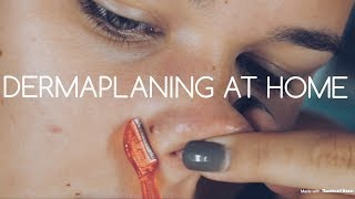 WHY DERMAPLANING?! SHAVING YOUR FACE? DIY | ALEXIS CHAPMAN