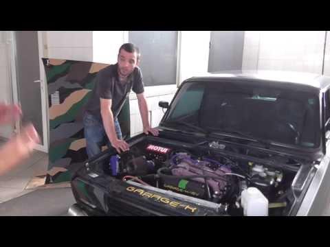ОбзорТестДрайв ВАЗ 2107 16v на 16-ти клапанном двигателе Жекича  Шалопая