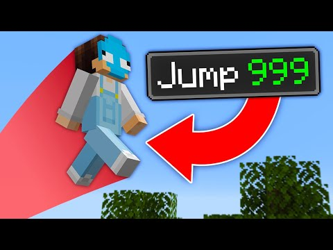 Minecraft, But Every Jump Is Multiplied...
