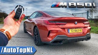 2019 BMW 8 Series Coupe M850i REVIEW POV Test Drive on AUTOBAHN & ROAD by AutoTopNL