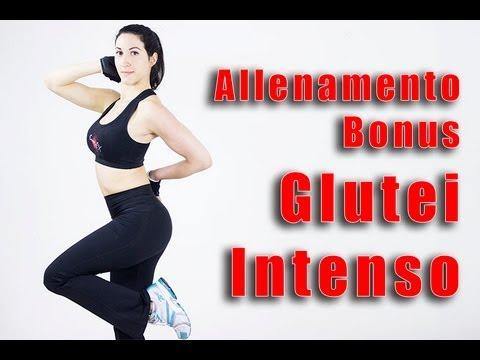 Esercizi intensi per i Glutei