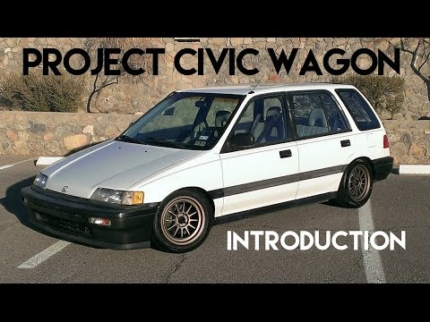 Project Civic Wagon | Maintenance for Daily Driving - EF