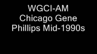 WGCI-AM Chicago Gene Phillips Mid-1990s.wmv