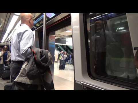 Hartsfield Jackson Atlanta International Airport Plane Train: Domestic to International Terminal
