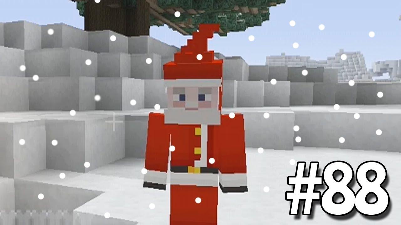 Christmas Minecraft Santa.Minecraft Xbox Sky Island Challenge Christmas Saved 88
