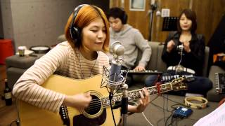 韩国美女吉他演奏
