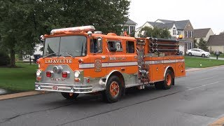 Lafayette,PA Fire Company 75th Anniversary Parade & Open House 10/13/18