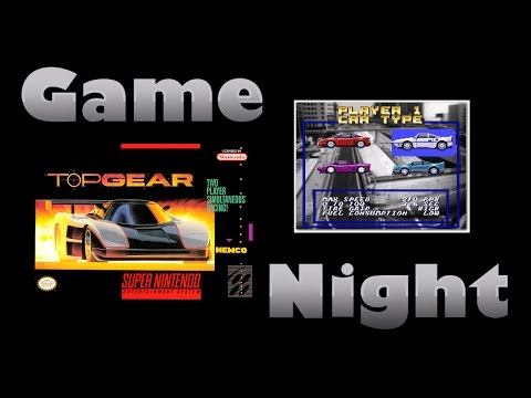 Top Gear - SNES - Game Night - KWKBOX