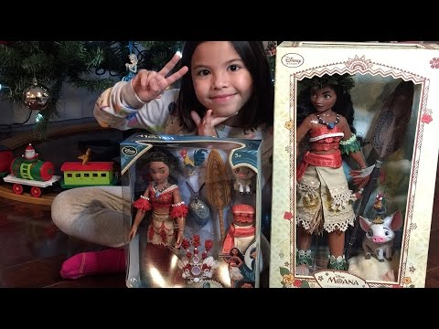 "16"" Moana Limited Edition and Singing Moana doll set"