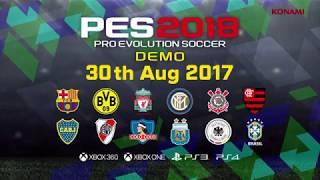 PES 2018 gamescom Trailer