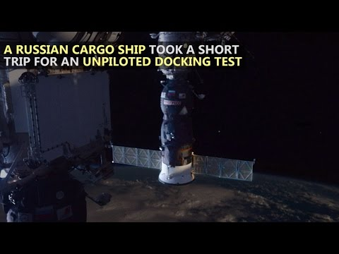 Cargo Ship Succesfully Re-Docks After Test