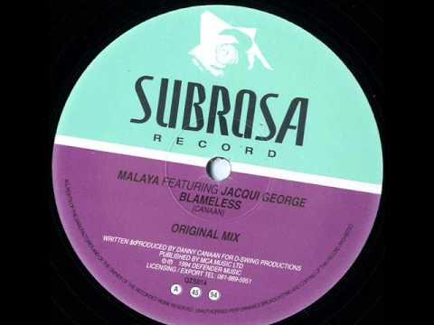 Malaya Feat  Jacqui George   Blameless