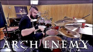 ARCH ENEMY - THE WORLD IS YOURS   DRUM COVER   PEDRO TINELLO