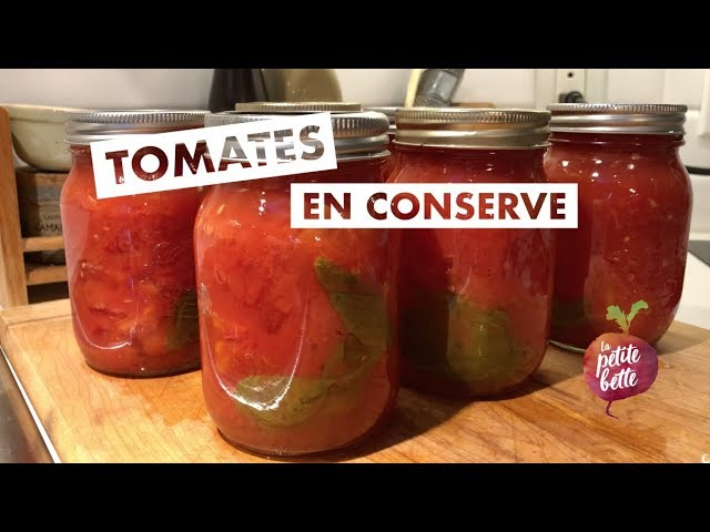 Conserves De Tomates Maison Tuto Technique Conservation Youtube