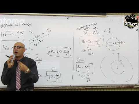 Lecture 5 Part 1 - Gravitational law ( Part 2)