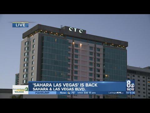 SLS Rebranding Back To 'Sahara Las Vegas'