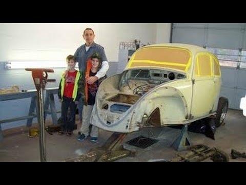 1965 VW Beetle Restoration part 9