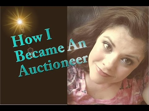 How to Auctioneer, Becoming an Auctioneer