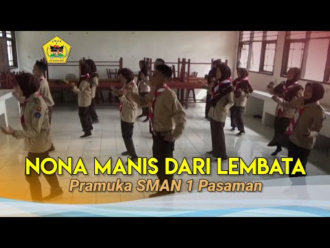 Nona Manis Dari Lembata_Pramuka  SMA N 1 PASAMAN