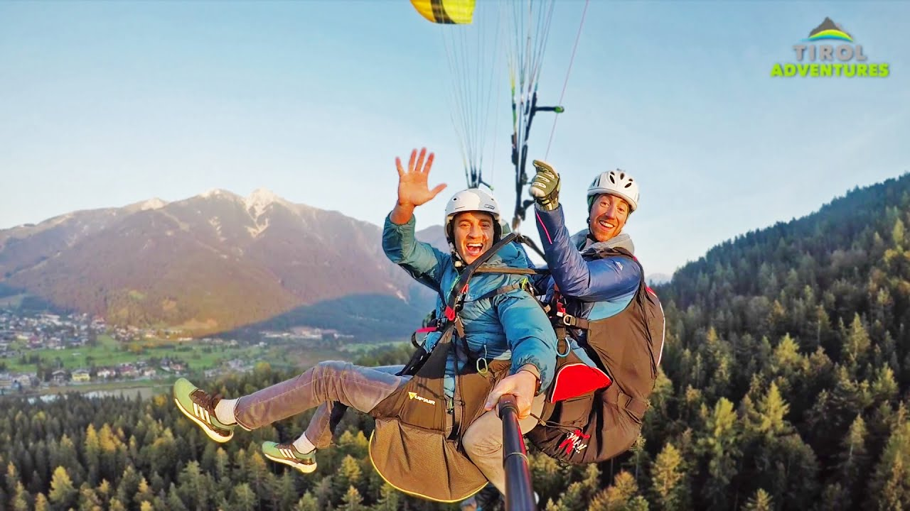 Tandem Paragliding in Tirol - Tirol Adventures