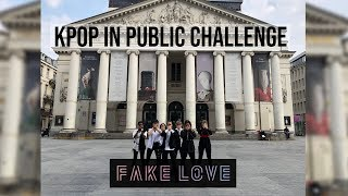 [KPOP IN PUBLIC CHALLENGE  BRUSSELS] BTS 방탄소년단 - FAKE LOVE Dance Cover by Move Nation
