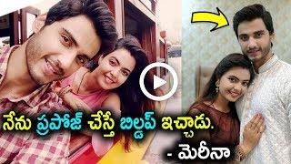 "Telugu Daily Serial ""Prema serial"" Marina and Rohith💕💕"