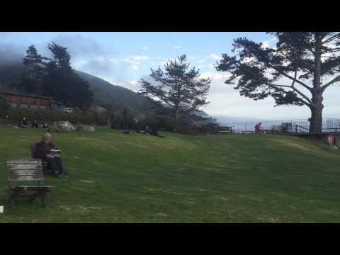 The beauty of Esalen in Big Sur