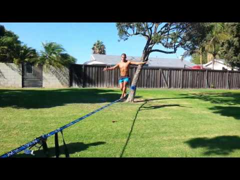 Slackline to help with Coordination and Core Balance