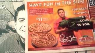 Sas Pizzanight: Papa John's Hawaiian Bbq Chicken Bacon Pizza