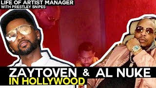 Life of Artist Manager: Zaytoven & Al Nuke in Hollywood