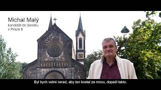 Volby 2018. Michal Malý, kandidát do Senátu v Praze 8 pod číslem 9