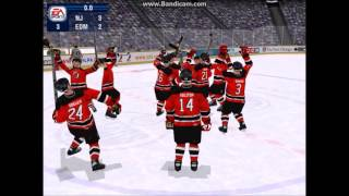 Two strange goals and Stanley Cup celebration, NHL 2000