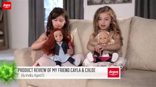 My Friend Cayla and Chloe Dolls Review by Kids | Argos