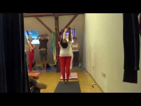 surya namaskarmeenakshi j  yoga workshop at yoga