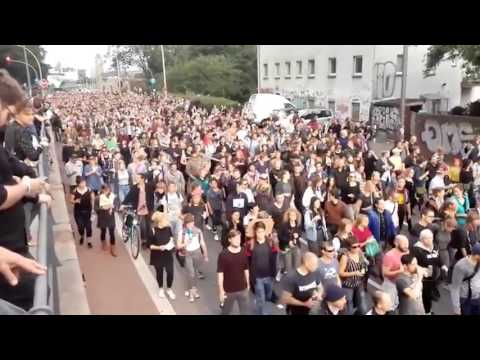 Protesters flock to Hamburg ahead of G-20 summit