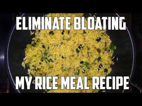 Delicious Rice Meal Recipe Get Rid of Bloating! Low FODMAP