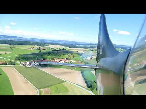 Stinson L 5, Flug nach Hagenbuch 2017, Video 121