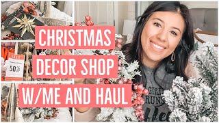 Christmas Decor Shop with Me and Haul | Hobby Lobby Christmas Haul