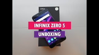 Infinix Zero 5 Unboxing, Hands on, Camera and Software Features