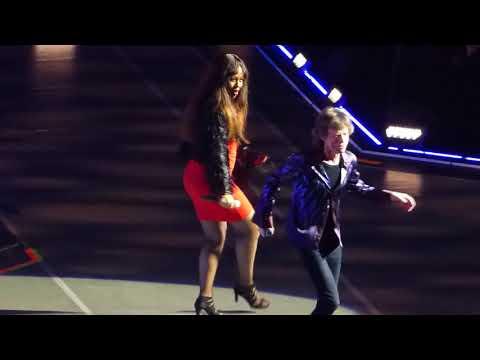 Gimme Shelter - The Rolling Stones w/ Sasha Allen Live @ Friends Arena, Stockholm