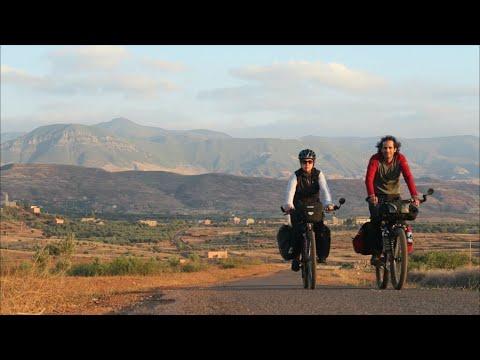 Cycling trip in Morocco, high atlas