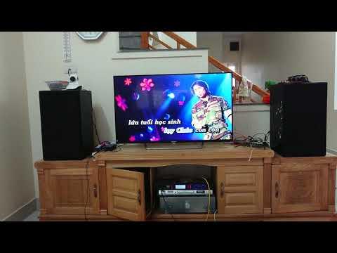 Karaoke with DIY amplifier