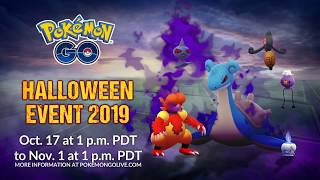 Pokémon GO Halloween is back!