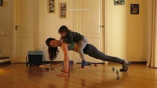 How This Super Fit Mom Uses Her Daily Routine with Children for Working Out
