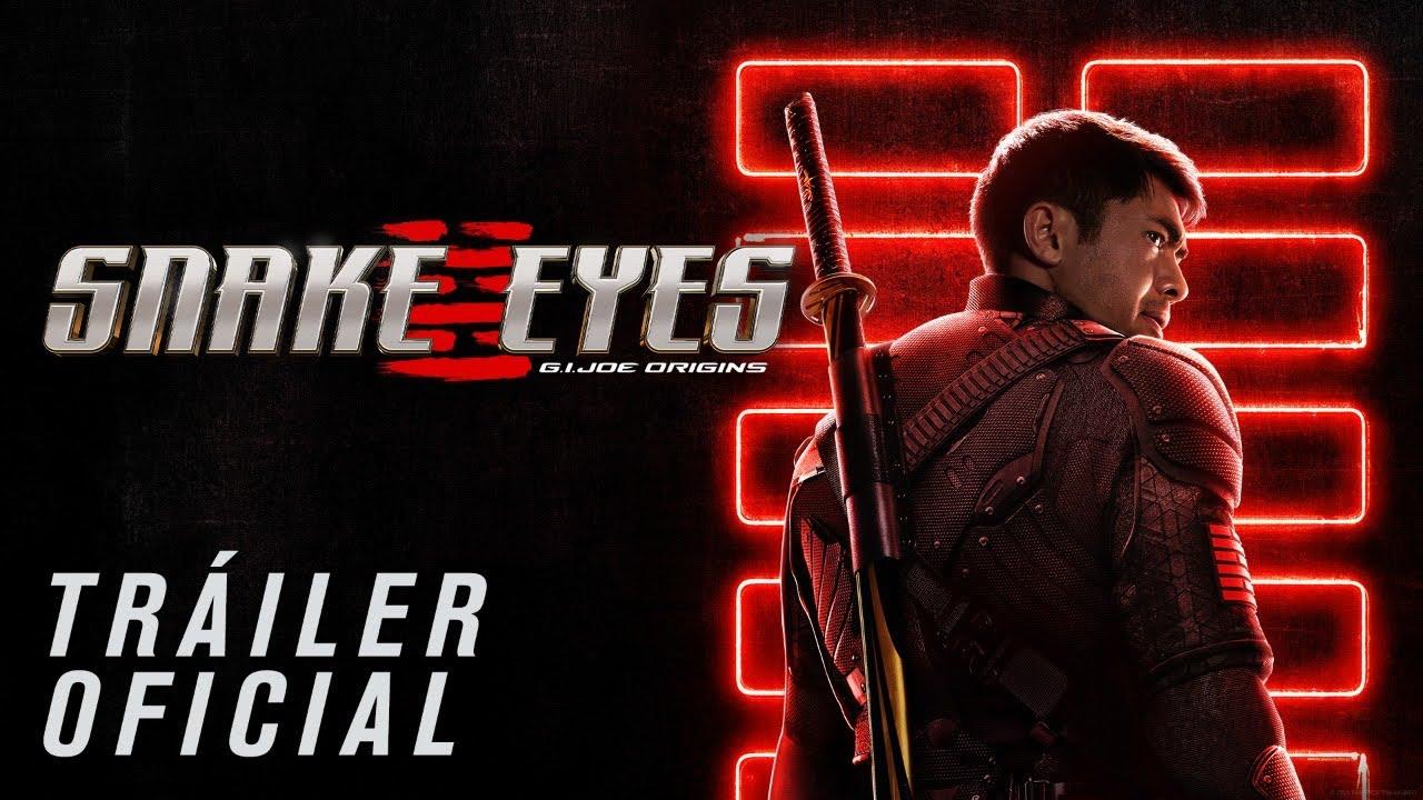 G I Joe Snake Eyes Trailer Oficial Paramount Pictures Mexico Youtube