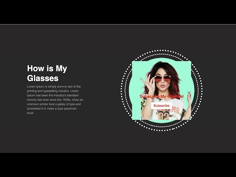 Html Css 3border Circle Animation And Product Image | Dev Online