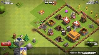 Clash of clans da basit bir yöntem: okçu barbar goblin